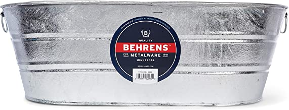 Behrens 3-OV 16-Gallon Oval Steel Tub