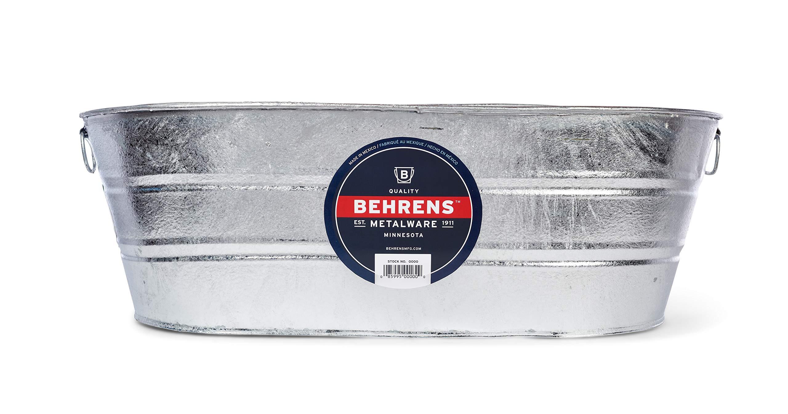 Behrens 3 OV 16 Gallon Oval Steel