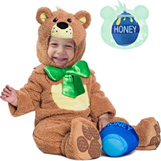 Teddy Baby Bear Costume Deluxe Infant Set for Halloween Trick or Treating Party Dress Up