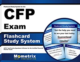 Flashcard Study System for the CFP Exam: CFP® Test Practice Questions & Review for the Certified Financial Planner™ Exam