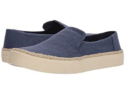 TOMS Sunset (Cadet Blue Heritage Canvas) Women