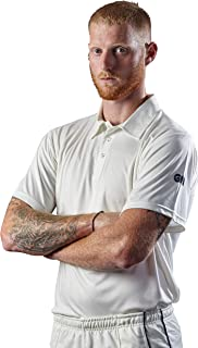 GUNA4|#Gunn & Moore Men Maestro Cricket Shirt - White, XXXLARGE ADULT