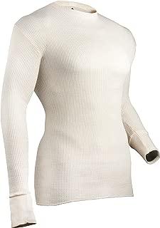 Indera Men's Tall Cotton Heavyweight Thermal Underwear Top