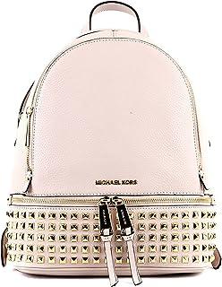 حقيبة ظهر أنيقة للنساء من مايكل كورس، زهري
