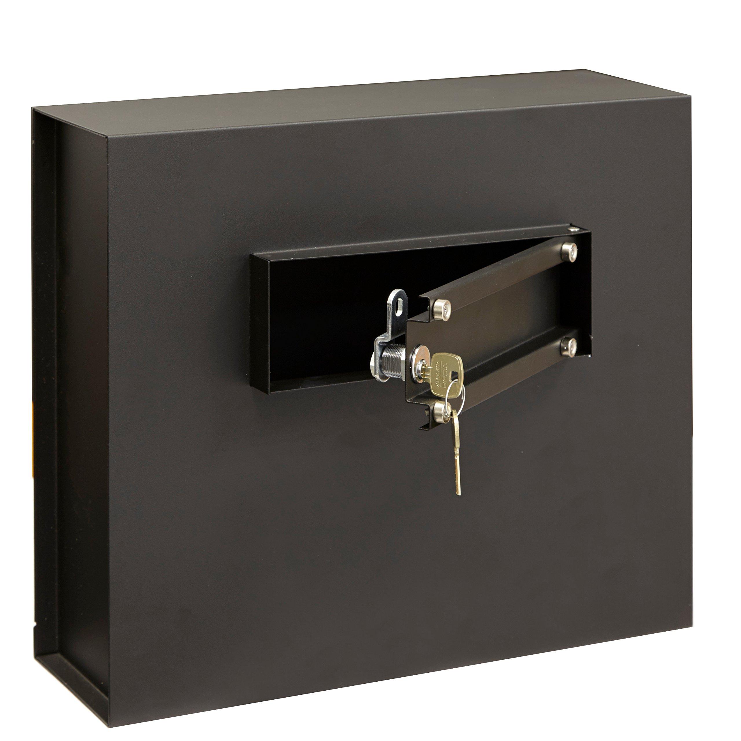 Arregui Caja Fuerte camuflada para Rejilla Enchufe Color Negro ...