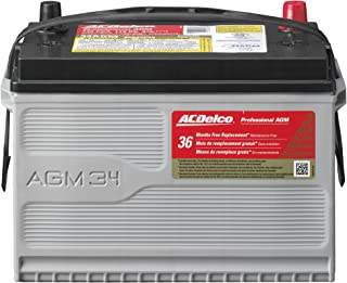 Best acdelco professional battery Reviews
