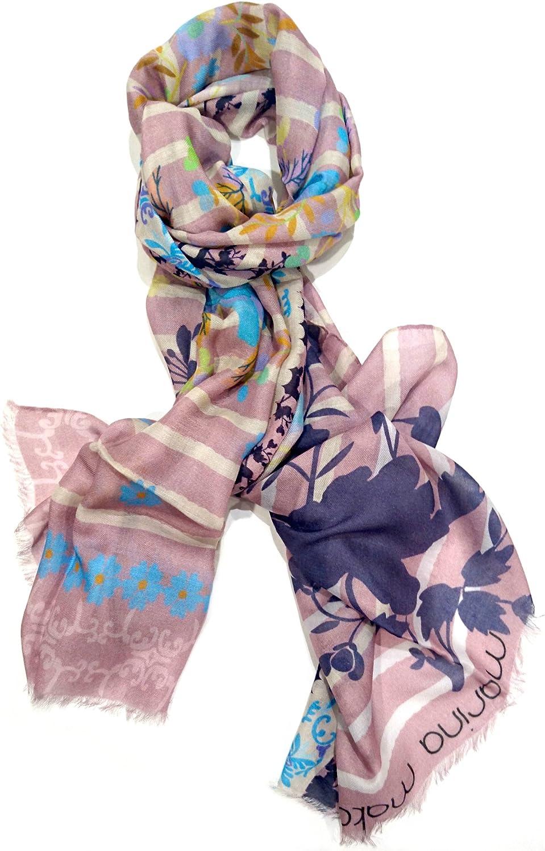 Marina Makaron Designer Limited Edition Cashmere Blend Woman Men Scarf Shawl Pashmina Made In Italy Luxury Fashion