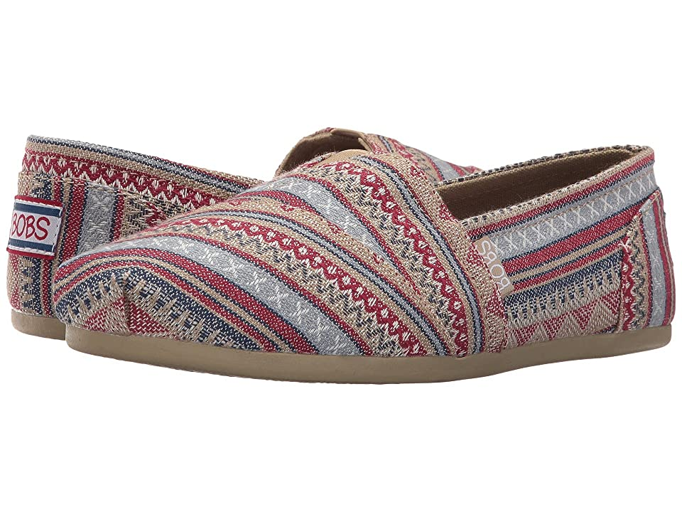 BOBS from SKECHERS Bobs Plush Aztec (Tan) Women
