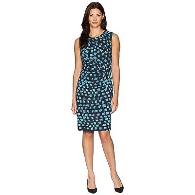 NIC+ZOE Vivid Twist Dress (Seafoam) Women
