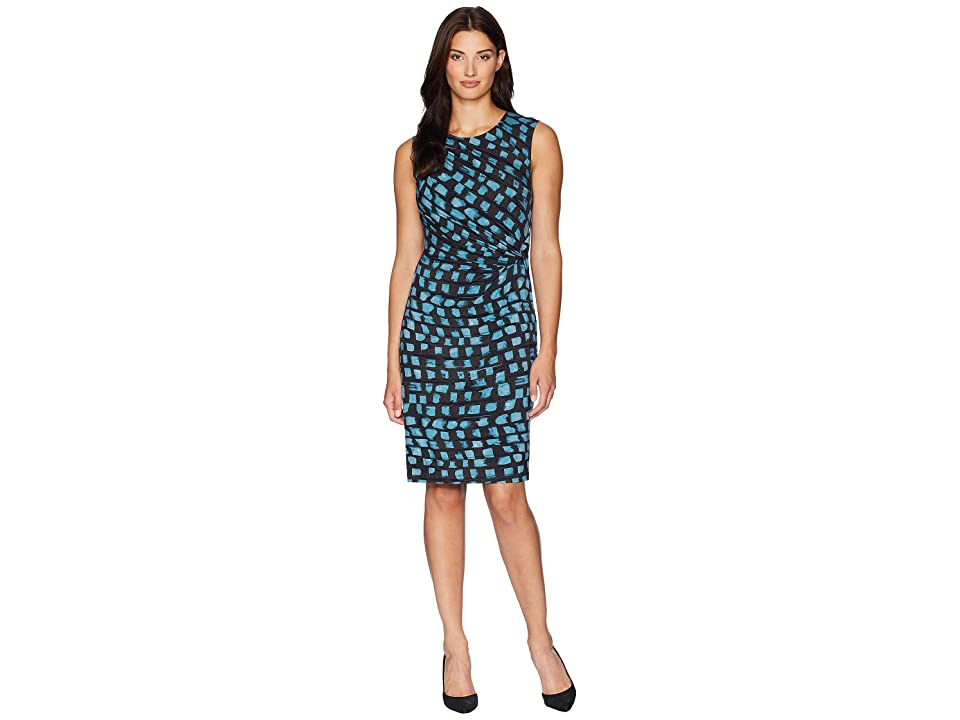 NIC+ZOE Vivid Twist Dress (Seafoam) Women