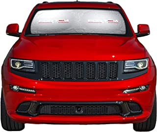 FORTEM Car Windshield Sunshade, Keeps Out UV Rays, Protects Vehicle Interior (Large (63