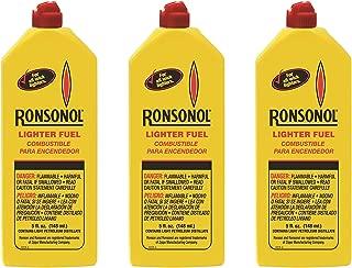 Ronsonol Lighter Fuel 5oz 3pcs by Ronson