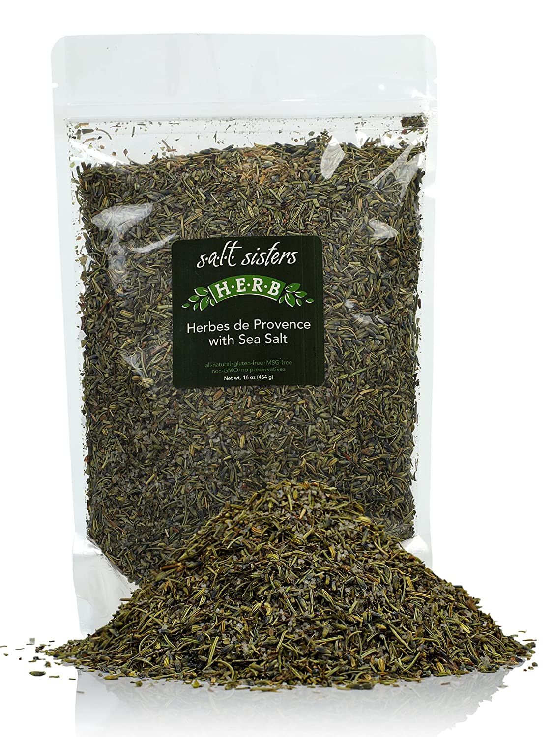 s.a.l.t. sisters Herbes de Provence Sea Sales results No. 1 with Same day shipping 16 Ounce Salt