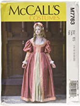 McCall's Patterns M7763 E5 Misses' Renaissance Dress and Skirt by Angela Clayton, Size 14-22