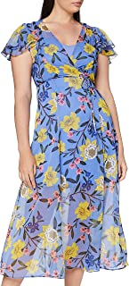 French Connection womens Eloise Crinkle Midi Dress Casual Dress
