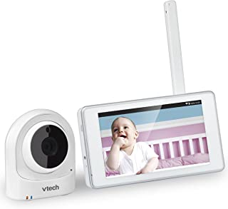 VTech VM981 Wireless WiFi Video Baby Monitor with Remote Access App, 5-inch Touch Screen, Remote Access 10x Digital Zoom, Motion Alerts & Support for up to 10 Cameras