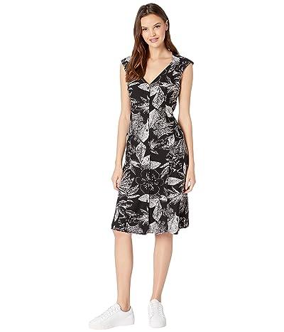 Volcom Do Tell Dress (Black Combo) Women