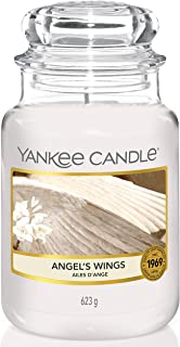 Yankee Candle bougie jarre parfumée | grande taille | Ailes d'ange | jusqu'à 150 heures de combustion