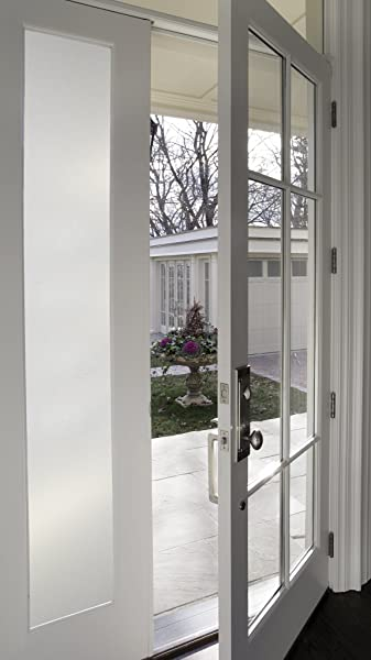 Artscape 01 0124 Etched Glass Sidelight Window Film 12 X 83