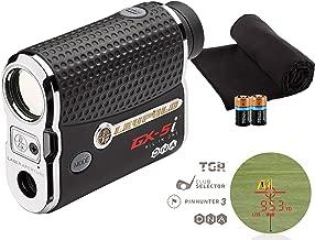 Leupold 2017 GX-5i3 Golf Rangefinder Bundle I Includes Golf Rangefinder (Slope & Non-Slope Function) with Carrying Case, PlayBetter Microfiber Towel and Two (2) CR2 Batteries
