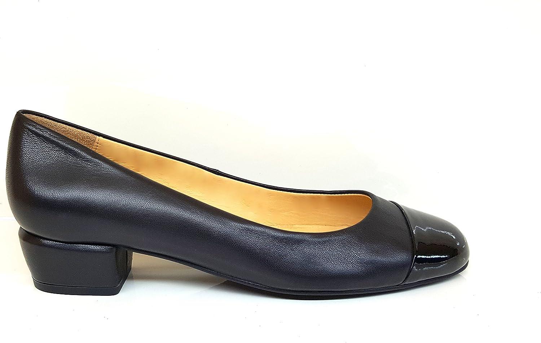 GENNIA AMUNTERA. - Women Leather Ballerina with Low Heel