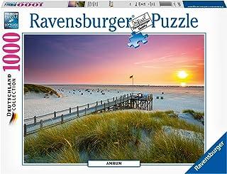 Sonnenuntergang über Amrum Puzzle 1000 Teile
