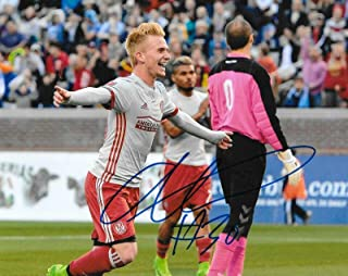 Signed Andrew Carleton Photo - 8x10 MLS 2 - Autographed Soccer Photos