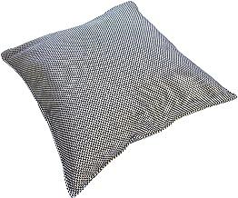 【日本製】 東三河織物 刺し子 クッションカバー 45x45cm 綿100% (【クッション付き】一重刺し子)