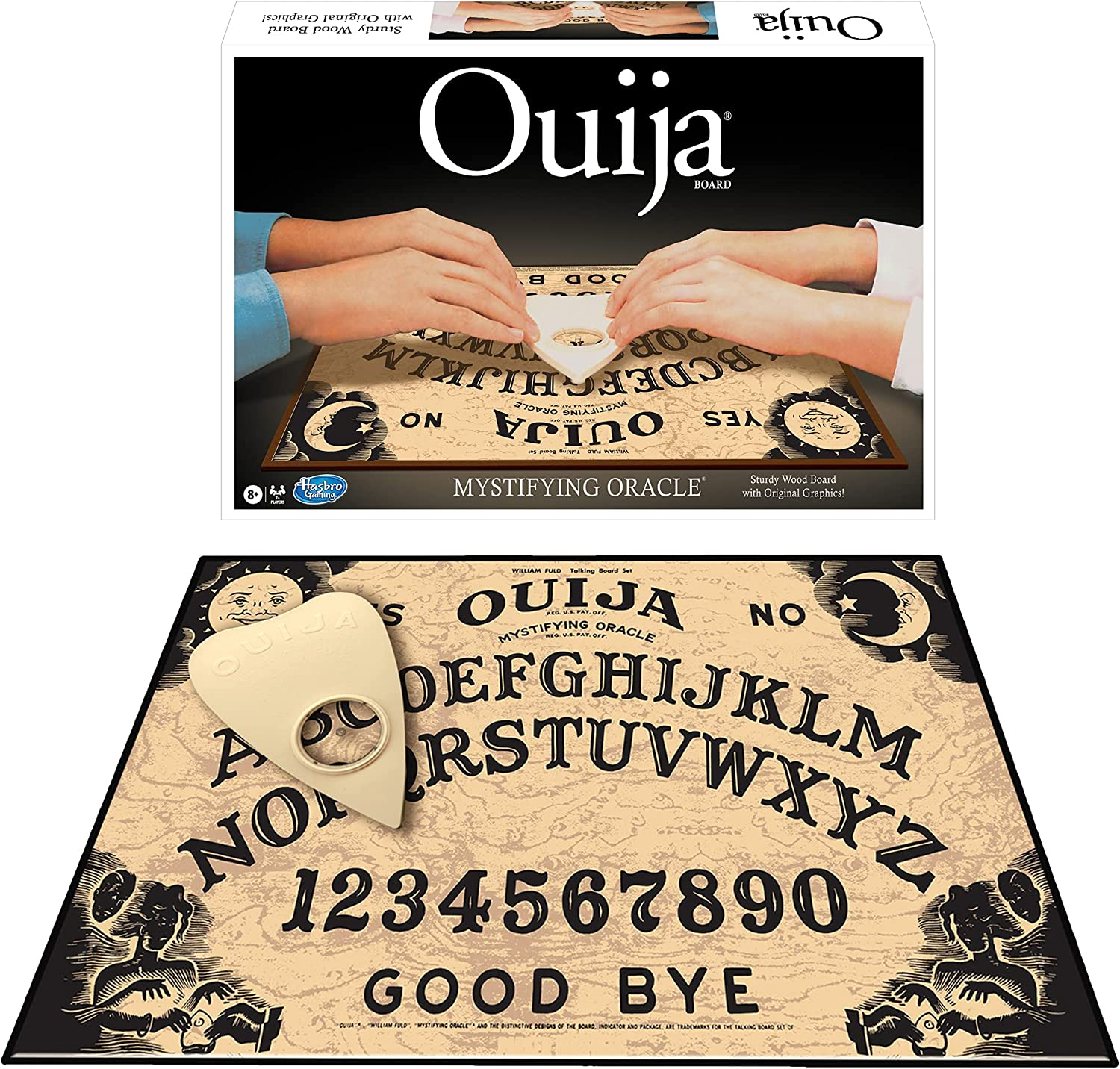 Winning Sales results No. 1 Moves Games Classic 5% OFF Ouija Brown