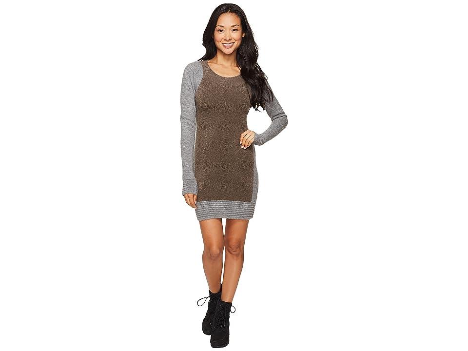 Toad&Co Kaya Sweater Dress (Heather Gray) Women