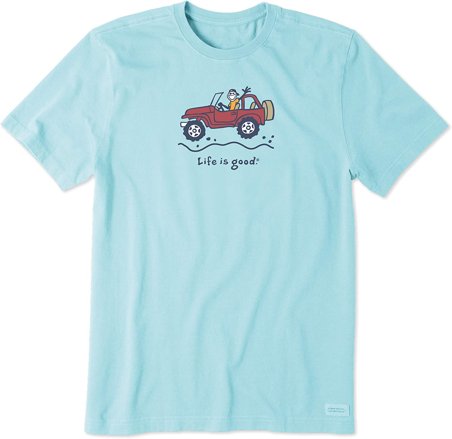 Life is Good Men's Vintage Crusher Jake Graphic T-Shirt 2021 Super-cheap autumn and winter new Off-Road