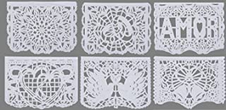 Paper Full of Wishes I 2pk Large Tissue Papel Picado Banner I Nuestra Boda I Wedding Mexican Papel Picado Banner