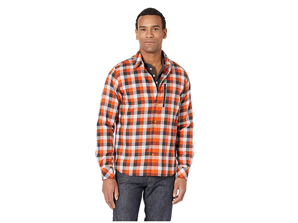 Helly Hansen Lokka Long Sleeve Shirt (Cherry Tomato Plaid) Men