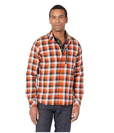 Helly Hansen Lokka Long Sleeve Shirt (Cherry Tomato Plaid) Men