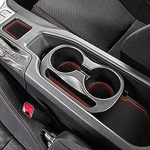 Auovo Anti-dust Door Mats for 2019 2018 2017 2016 2015 2014 2013 Subaru BRZ Toyota 86 Scion FR-S Door Pocket Liners Cup Pads Console Mats Interior Accessories (8 pcs, Red)
