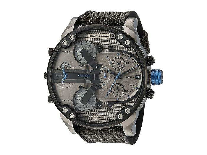 Diesel  Mr Daddy 2.0 - DZ7420 (Black/Gray) Watches