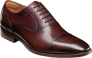 فلورشايم Sorrento Cap Toe Oxford Burgundy Smooth 9.5 M (D)