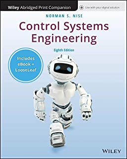 Control Systems Engineering, 8e Enhanced eText with Abridged Print Companion