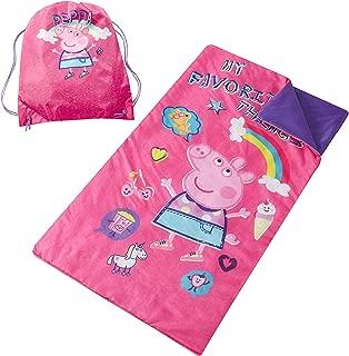 Entertainment One Peppa Pig Sling Bag Slumber Set, Pink
