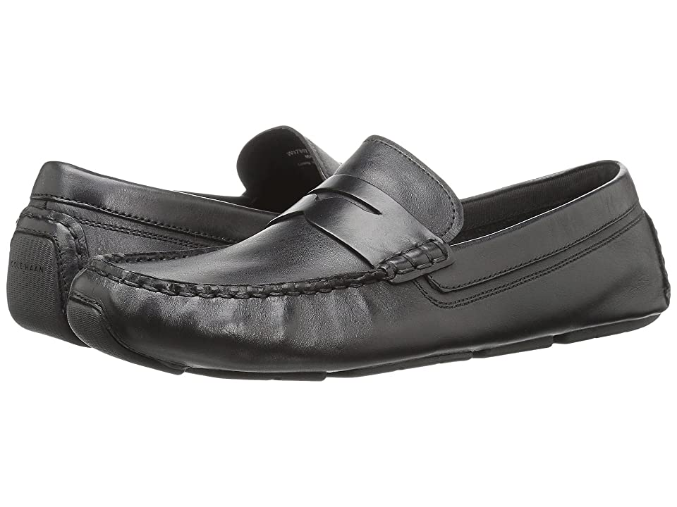 Cole Haan Rodeo Penny Driver (Black Leather) Women