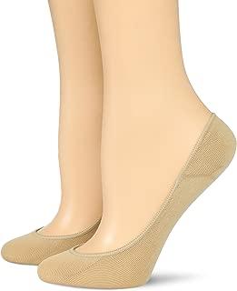 Hue 12785 Women's Ultra Low Cut No Show Liner Sock (2 Pair)