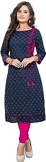New Kurtis Ethnic Women Kurta Kurti Tunic Digital Print Top Dress Casual Wear 03