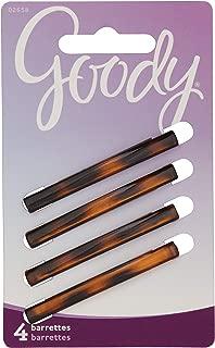 Goody Classics Stay Tight Barrette Mock Tort, 4 Count 均码
