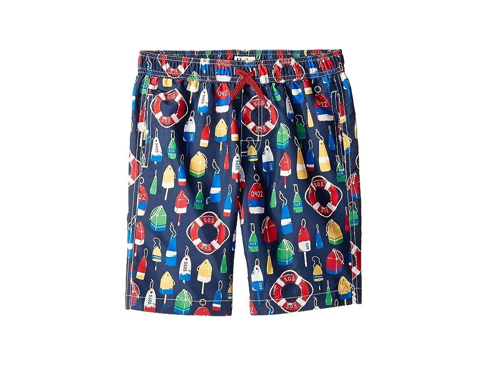 Hatley Kids - Hatley Kids Distressed Buoys Swim Trunks