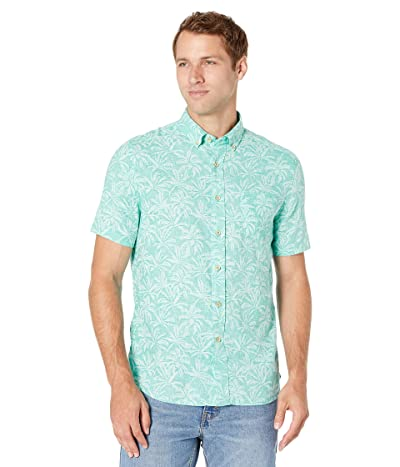Southern Tide Sabal Print Short Sleeve Sport Shirt