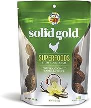 Solid Gold Superfood Dog Treats; Grain Free Chicken, Coconut & Vanilla, 6Oz
