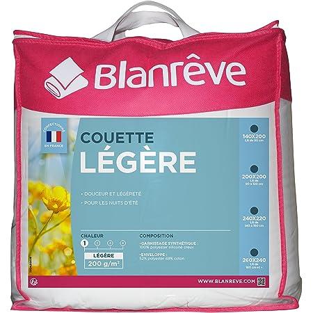 Blanrêve Couette Légère 200g 260 x 240