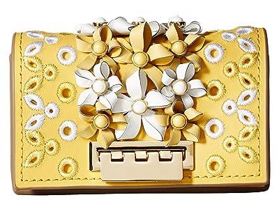 ZAC Zac Posen Earthette Credit Card Case Crossbody (Honey 1) Cross Body Handbags