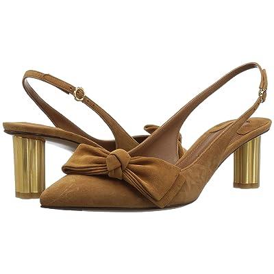 Salvatore Ferragamo Aulla Slingback Pump (Vicuna) High Heels