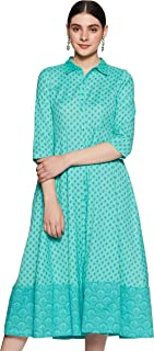 Rangriti Cotton a-line Dress